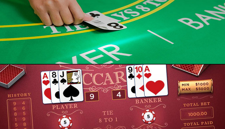 Play online baccarat in New Jersey today